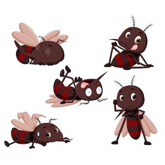 蚊の漫画のコレクション