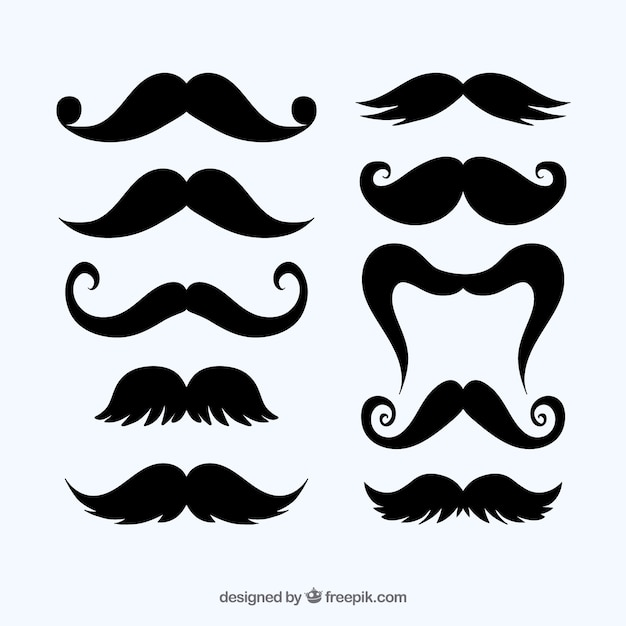moustache vectors photos and psd files free download rh freepik com mustache vector image mustache vector image