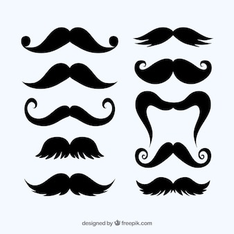 Collection of mustaches