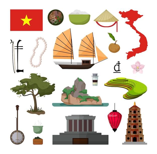 베트남의 물건 수집