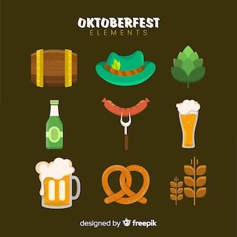 Collection of oktoberfest elements