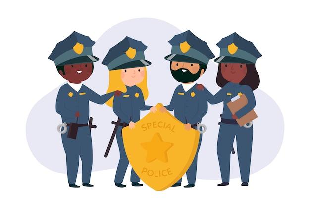 경찰의 수집