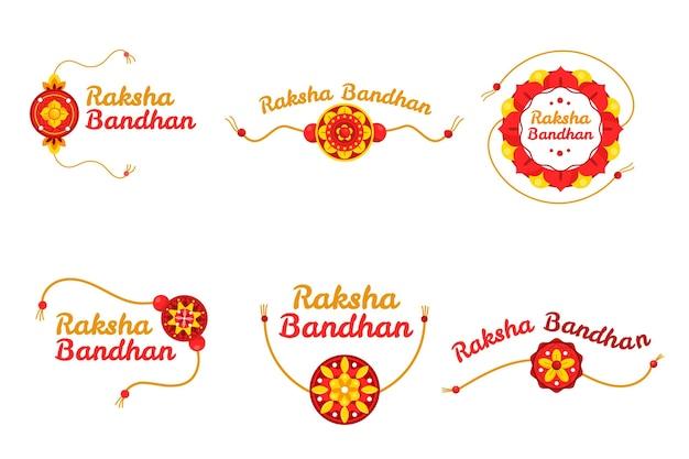 Коллекция значков ракшабандхан
