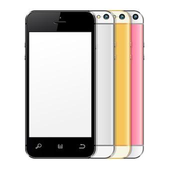 リアルな携帯電話のコレクション