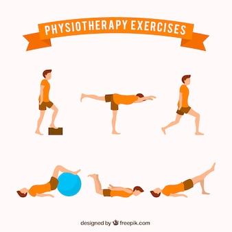 Сбор реабилитационных упражнений
