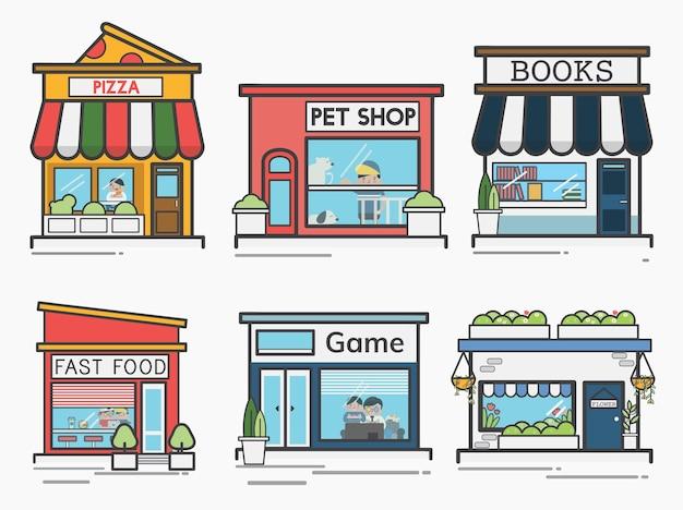 Коллекция магазинов и магазинов