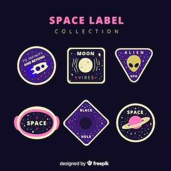 Коллекция космических меток