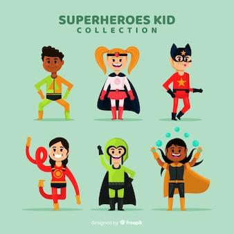 スーパーヒーローの子供のコレクション