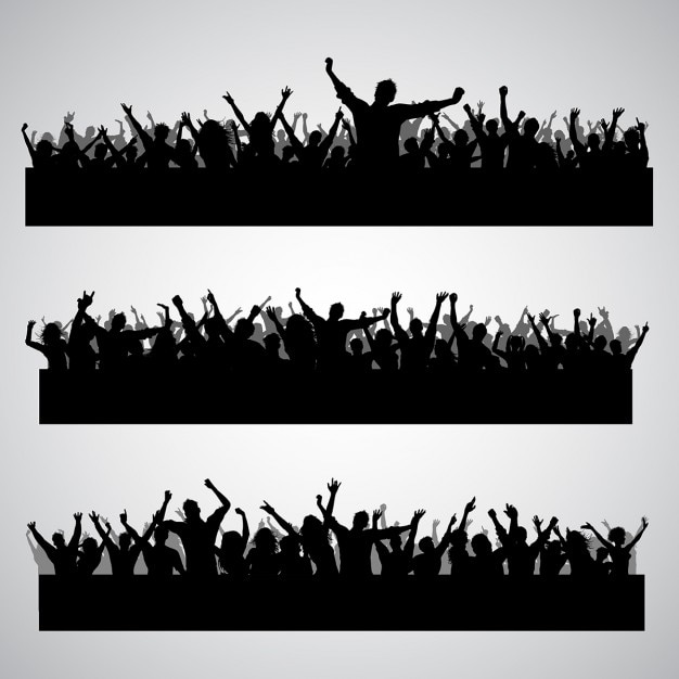 crowd vectors photos and psd files free download rh freepik com crowd vector hd crowd vector ai