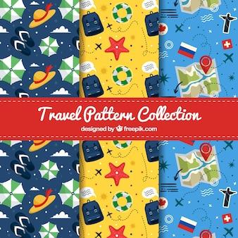 Коллекция моделей путешествий