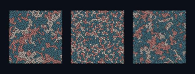 チューリングの抽象的な背景のコレクション。
