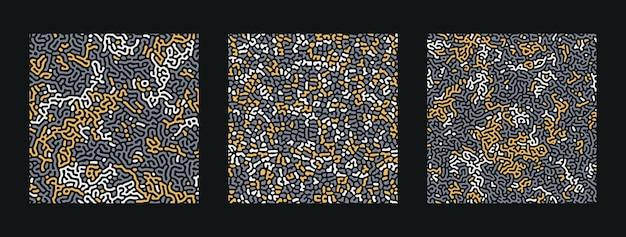 チューリングの抽象的なシームレスパターンのコレクション。