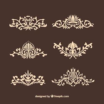 ヴィンテージ装飾品のコレクション