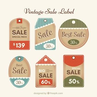 Коллекция старинных этикеток продажи