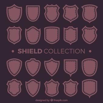 ヴィンテージ盾のコレクション
