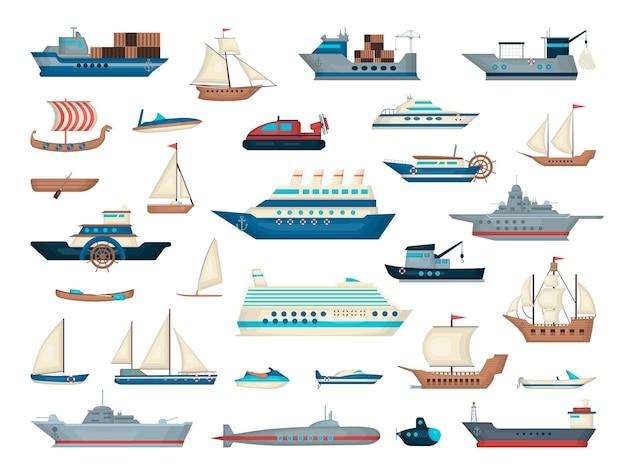 水上輸送の収集
