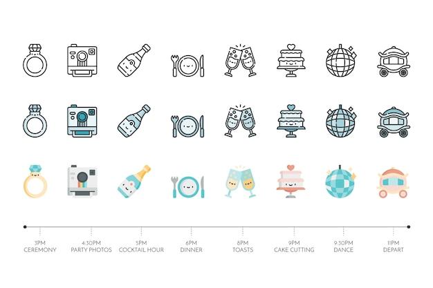 Коллекция свадебной иконы