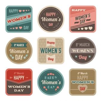 Коллекция день этикеток женские