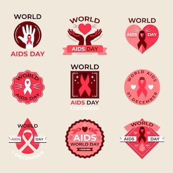 세계 에이즈의 날 레이블 컬렉션