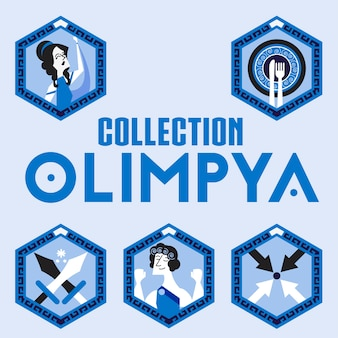 Collection olimpya icon