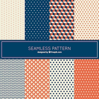 Collection of pattern in geometrical style