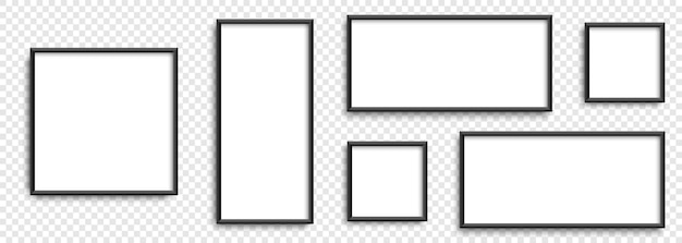 コレクションフォトフレームさまざまな形