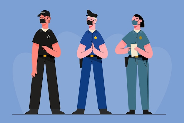 Collection of police profession
