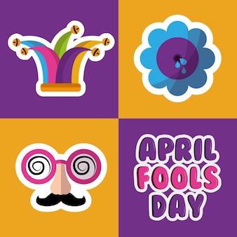 Collection prank tricks fools day celebration