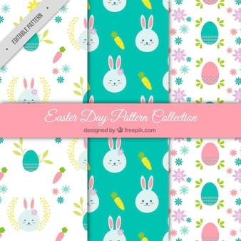 Collection of pretty easter patterns