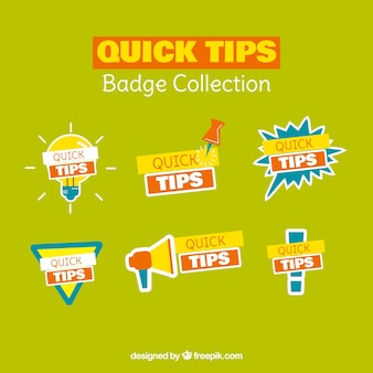 Collection of quick tips