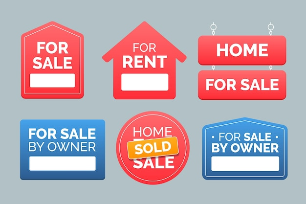 Raccolta di segni immobiliari