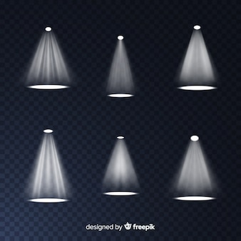 Collection of realistic scene illumination