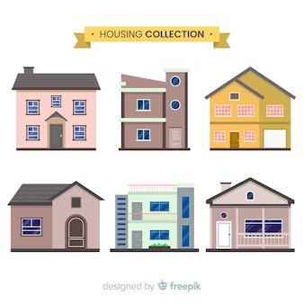 Collection of residencial houses