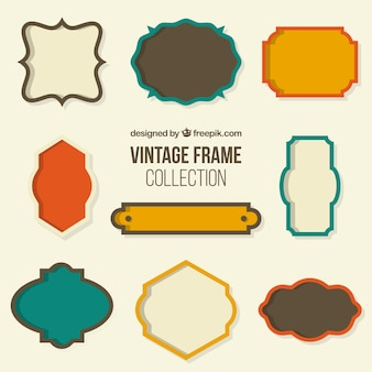 Collection of retro frame