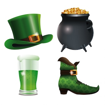 Collection saint patricks day celebration