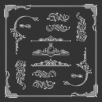 Набор сбора старинного орнамента