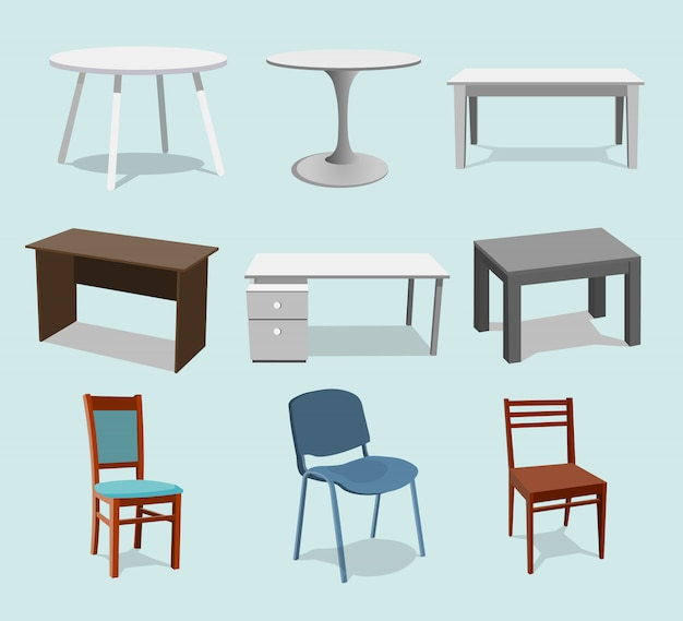Collection set of tables