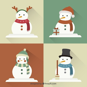 Collection of snowman