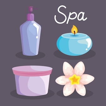 Collection spa icons