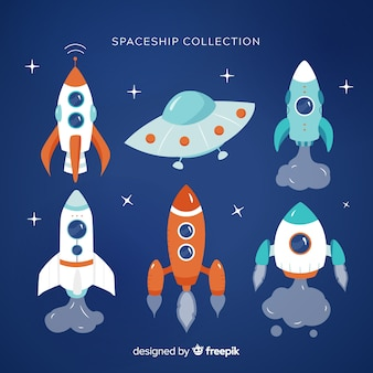 Collection of spaceships