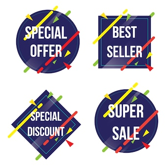 Collection of special offer