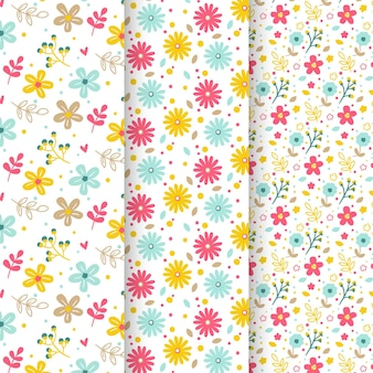 Collection of spring patterns