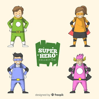 Collezione di supereroi