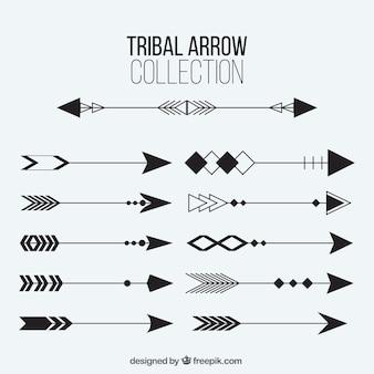 Raccolta delle frecce tribali