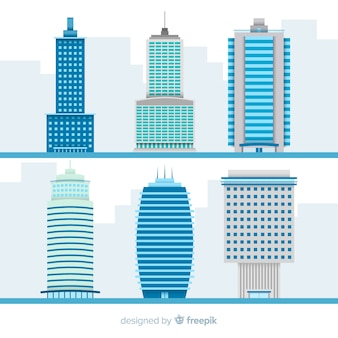 Collection of various office buildings