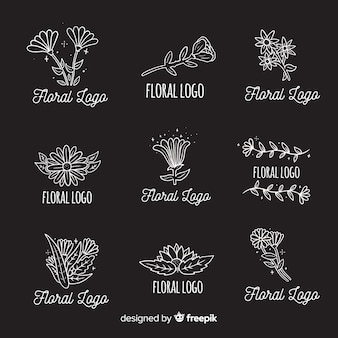 Collection of wedding florist logos