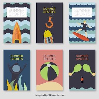 夏の被写体のカードとコレクション