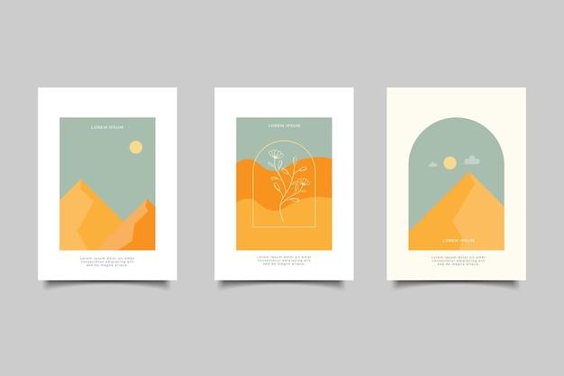 Коллекциясовременная обложка винтаж ретро