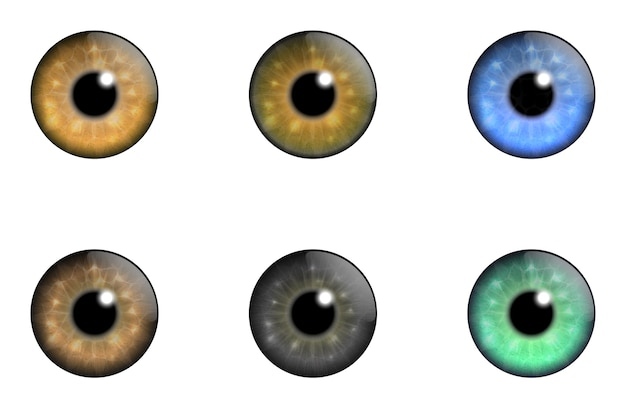 Коллекционные глаза