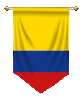 Colombia pennant